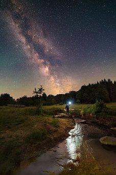 Milky Way, Stars, Cosmos, Universe, Starry Sky, Night