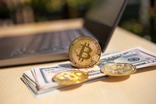 Money, Euro, Bitcoin, Cryptocurrency, Btc