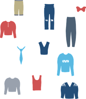 Clothing, Fashion, Icons, Jacket, Pants, Shirt, Tie