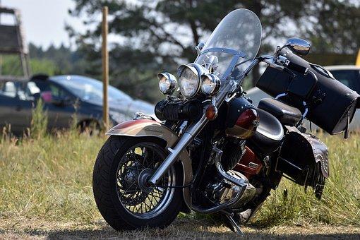 Motorcycle, Motorbike, Vehicle, Ride, Parked