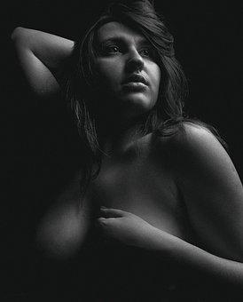 Breast, Body, Nude, Monochrome, Naked, Nudity, Sensual