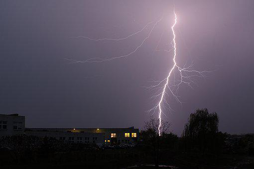 Storm, Lightning, Night, Weather, Thunder, Sky