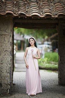 Woman, Model, Fashion, Dress, Pose, Posing, Modelling