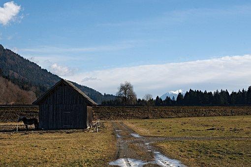 Tröpolach, Austria, Alps, Winter, Mountains, Landscape
