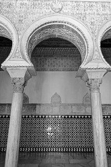Arabic, Arch, Architecture, Antique, Decoration