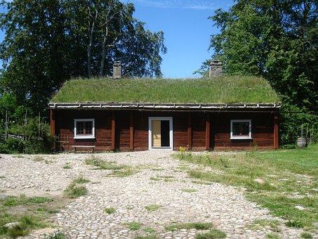 Carl Von Linne, Birthplace, Råshult, Småland, House