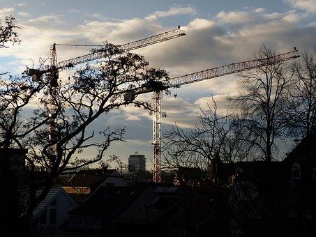 Boom, Crane Boom, Crane, Lattice Boom Crane, Baukran