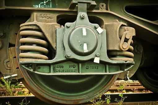 Railway, Wheel, Drive, Locomotive, Loco, Linkage, Train