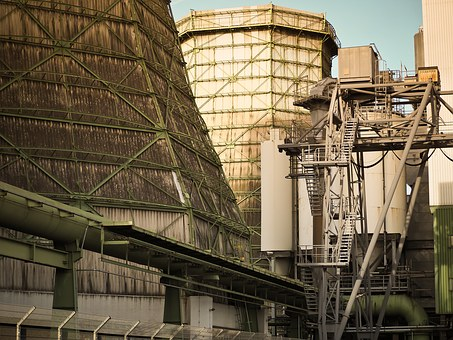Industry, Hot Water Boiler, Heat And Power Plant
