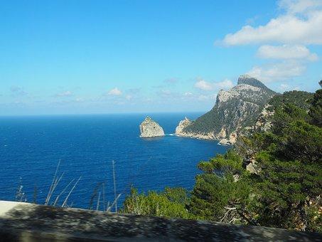 Mirador De La Creueta, Viewpoint, Mallorca, Island
