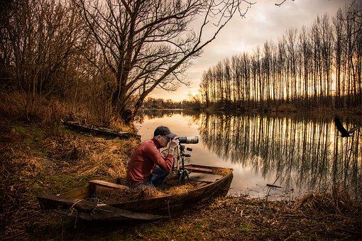Hunter Of Images, Lake, Ducks Waterfowl, Nature