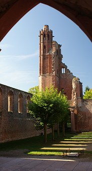 Ruin, Monastery, Limburg, Palatinate Forest
