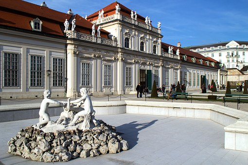Vienna, Belvedere, Lower Belvedere, Castle, Baroque
