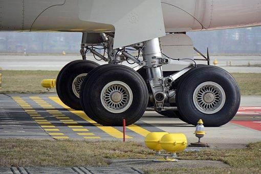 Main Landing Gear, Aircraft, Wheel, Mature, Chassis