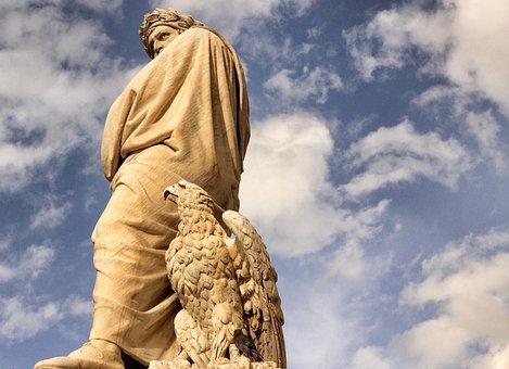 Dante Alighieri, Dante, Poet, Sculpture, Monument