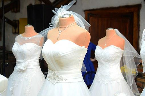 Wedding Dress, Wedding, Para, Bride, Marriage, White