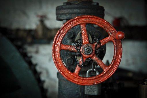 Valve, Steam, Iron, Industrial, Pipe, Pressure