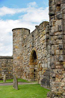 Scotland, St Andrews, Cathedral, Substantiate, Ruin