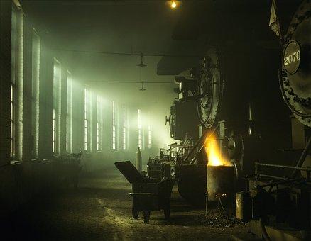 Steam Locomotive, Locomotive, Steam Boilers, Railway