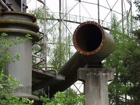 Gas Pipe, Rusted, Corrosion, Steel, Pipeline