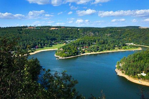 Vranovská Dam, The Bit Hot, Lookout Rumburak
