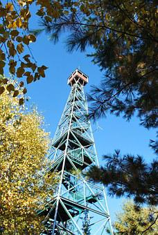 Temagami, Tower, Nature, Outdoor, Summer, Scenic, Tree