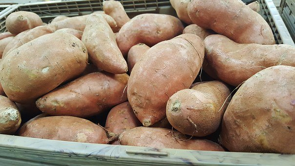Sweet Potatoes, Potatoes, Food, Grocery, Tuber