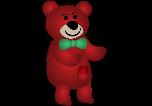 Teddy Bear, Bear, Animal, Cute, Toy, Decorative