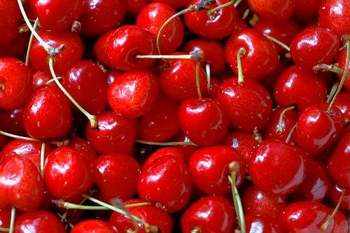 Cherries, Fruits, Red, Food, Ripe, Vitamins, Organic