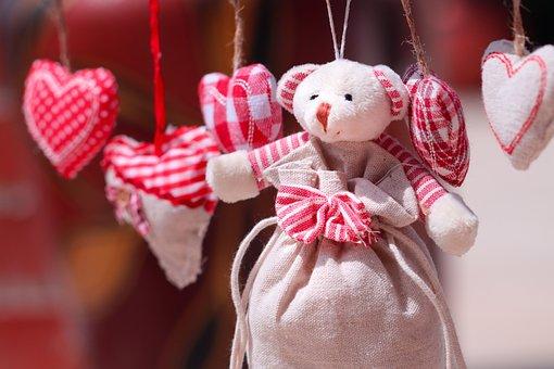 Teddy Bear, Hearts, Love, Home, Family, Friends