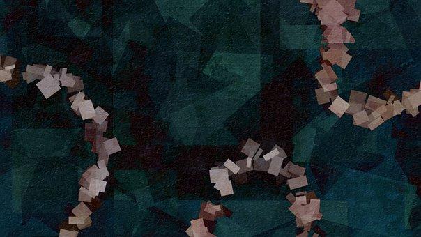 Background, Geometric, Metallic, Pattern, Shiny