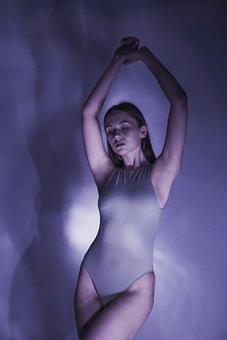 Girl, Fashion, Model, Portrait, Bodysuit, Woman, Young