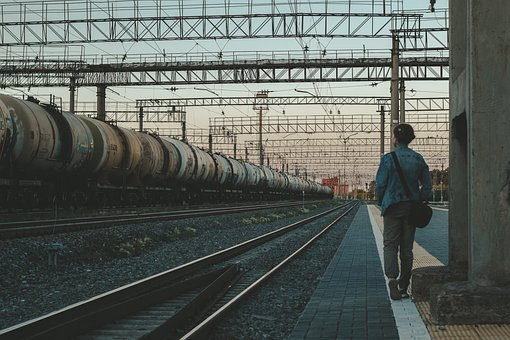 Train, Railway, Station, Passenger, Waiting, Wait
