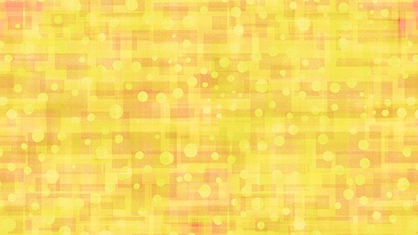 Abstract, Dots, Background, Yellow, Golden, Sunny