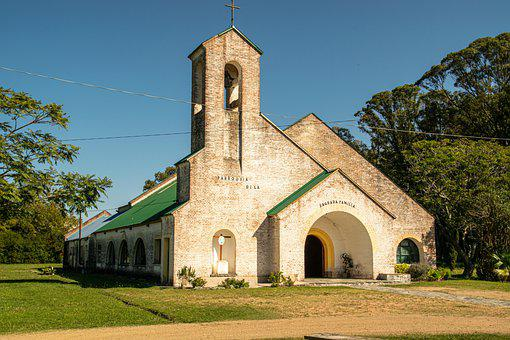 Church, Tower, Building, Architecture, Facade