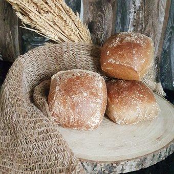 Bread, Buns, Roll, Rye, Röggelchen, Baked, Sweet