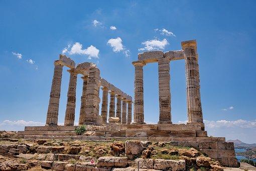 Temple, Ruins, Columns, Architecture, Greece, Culture