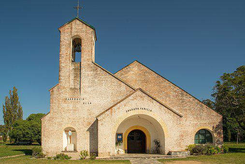 Church, Bell Tower, Facade, Architecture, Building
