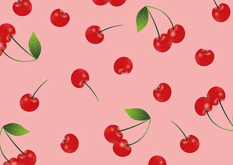 Cherries, Background, Fruits, Food, Wallpaper, Harvest