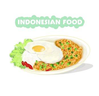 Indonesian Food, Cuisine, Food, Meal, Fried Eggs, Dish