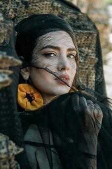 Woman, Persian, Fashion, Beauty, Portrait