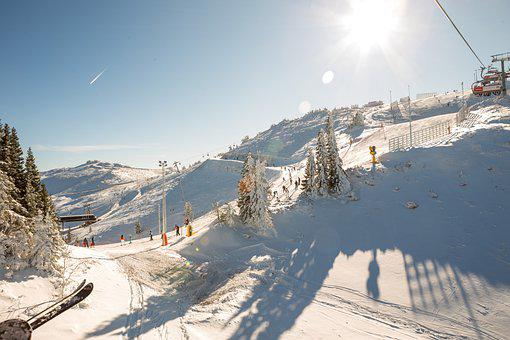 Ski Resort, Skiing, Winter, Snow, Ski, Snowy, Cold