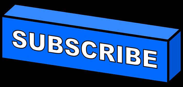 Subscribe, Button, Youtube, Icon, Social Media