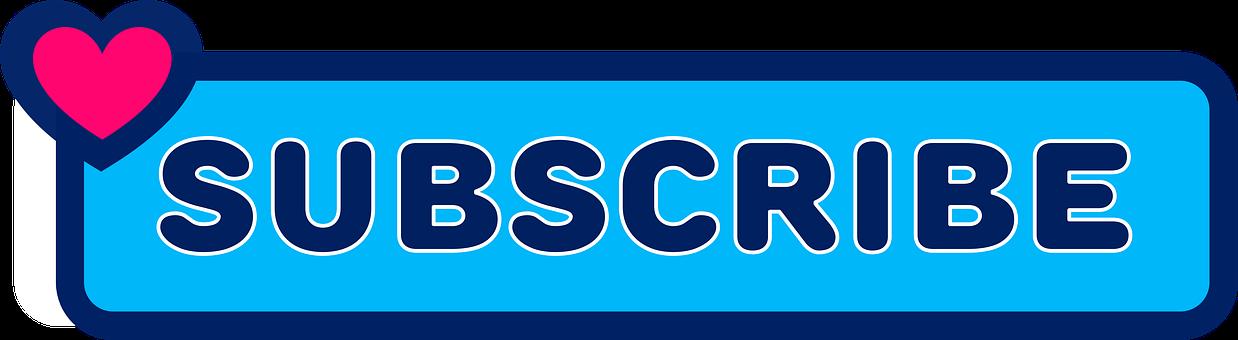 Subscribe, Button, Icon, Social Media, Internet
