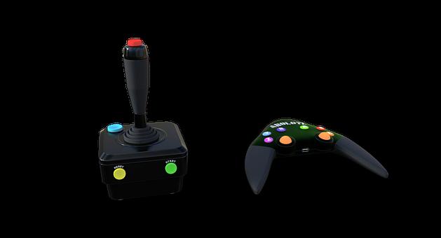 Controller, Joystick, Stick, Computer, Video Games