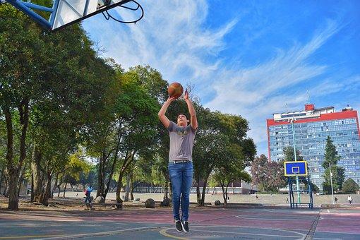Basketball, Play, Court, Sport, Game, Leisure, Shooting