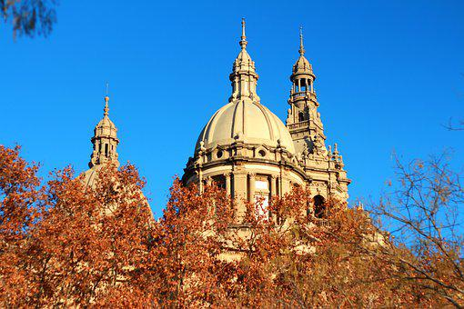 National Art Museum, Catalonia, Building, Tower, Dome