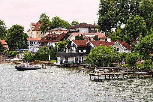 Starnberg, Town, Lake, Starnberg Lake, Tutzing