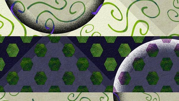 Abstract, Beautiful, Blue, Gray, Green, Stripe