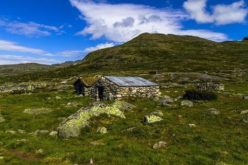 Mountain, Building, Stone, Nature, Architecture
